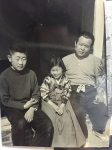 Grandpa, mom, and uncle