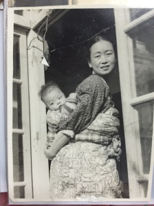 Grandma as a baby and her mom